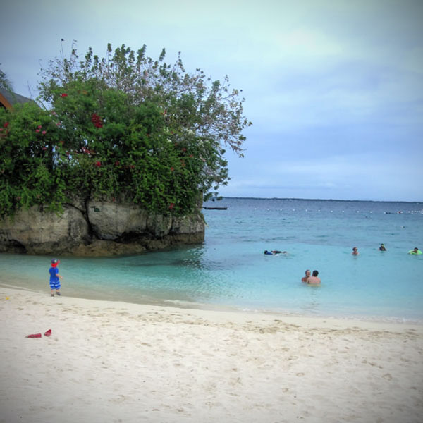 Beautiful Beach in Cebu Philippines