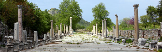Sunday Spotlight: A Walk Through Ephesus