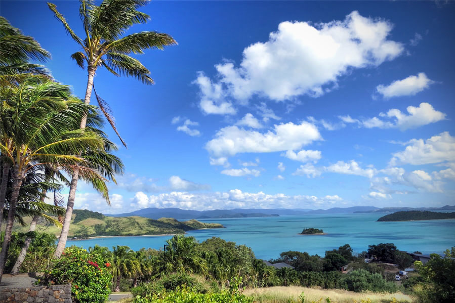 The Whitsundays from Hamilton Island