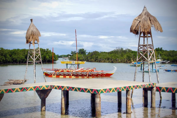 Boats at Magellan Shrine Park