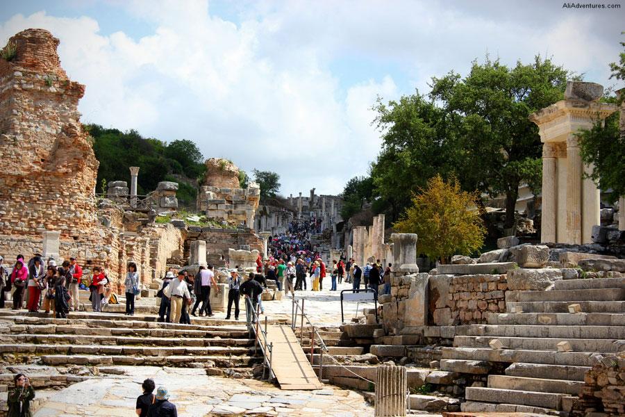 Main Road Ephesus