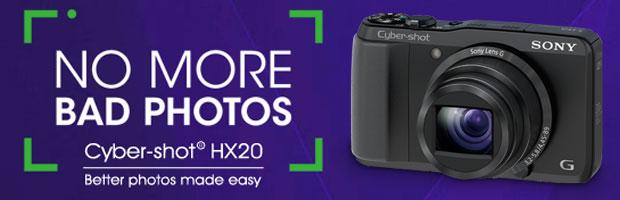 Winner: Sony Cyber-shot HX20 Giveaway