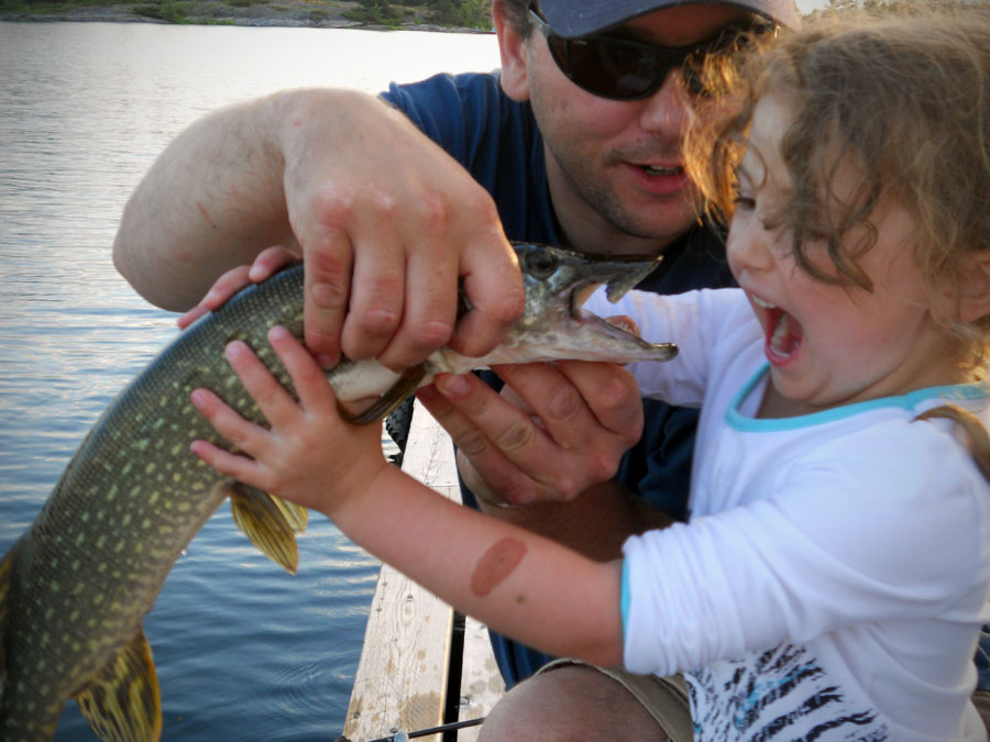 Celebrating family and one of Canada's favorite hobbies - fishing!