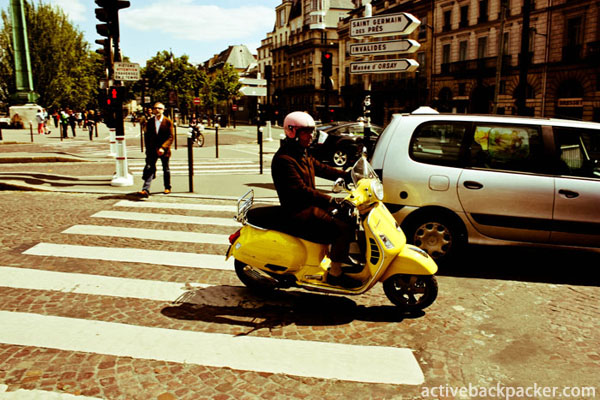 Parisian Scooter