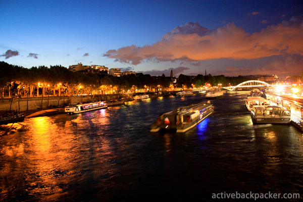 The River Seine at Night