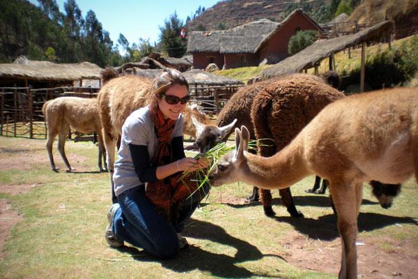 Liz in Peru