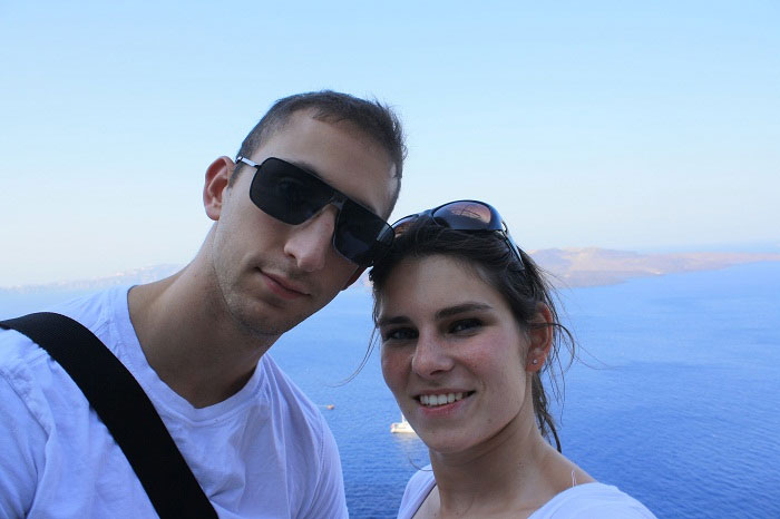 Trying to make the most of our 8 day $4000 vacation to Greece (during our 9-5 working days)