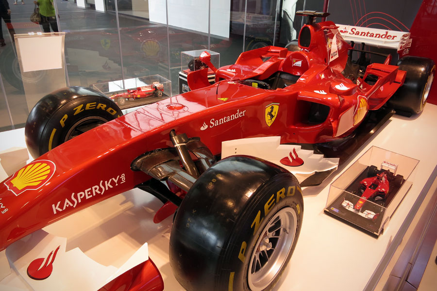 Replica Ferrari at Marina Bay Sands