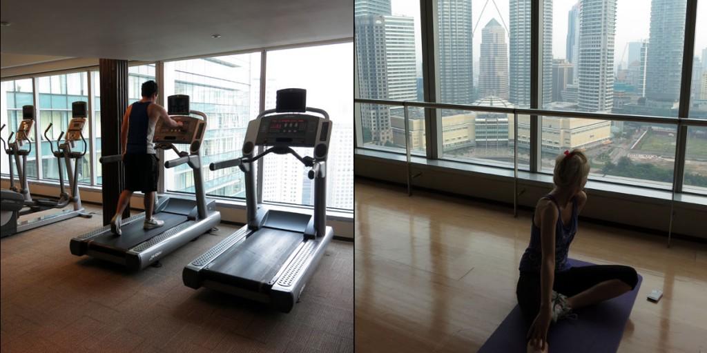Traders Hotel Kuala Lumpur Gym
