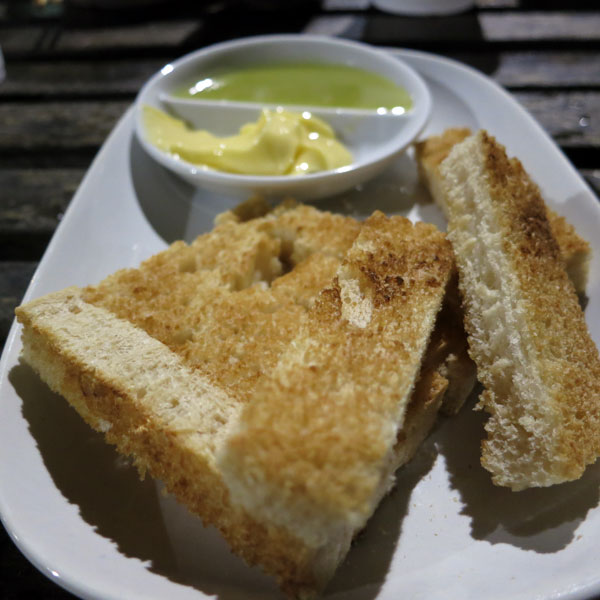 Roti Kaya Fondue