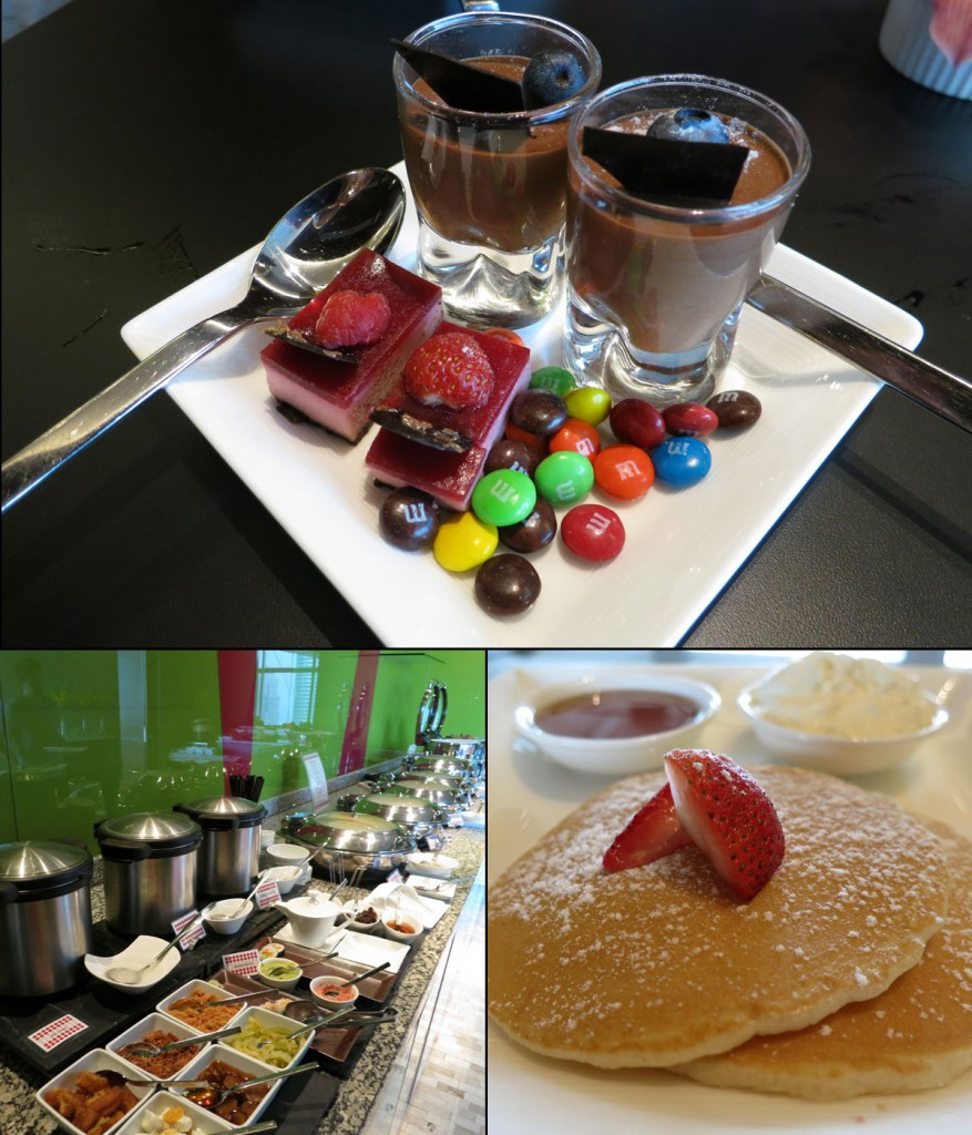 Treats and Breakfast in the Traders Club Lounge