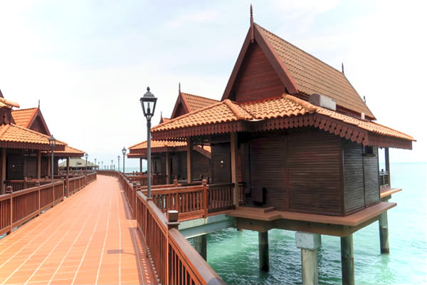Our Langkawi Chalet on the Sea