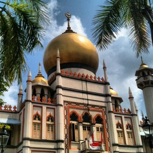 Sultan Mosque, in Kampong Glam