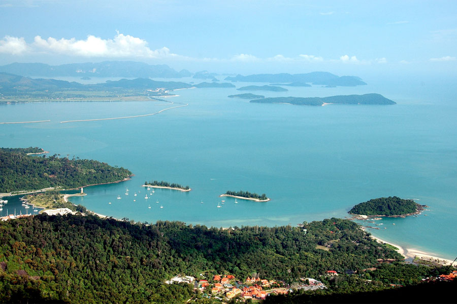 Langkawi Cable Car Views (Credit - Shreyans Bhansali)