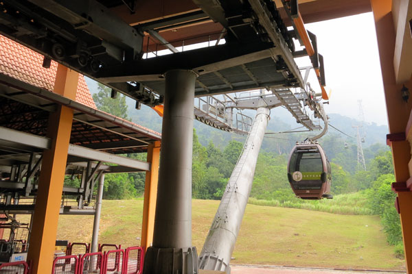 Langkawi Cable Car Start