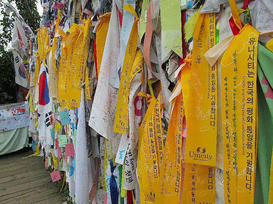 Korea Peace Ribbons