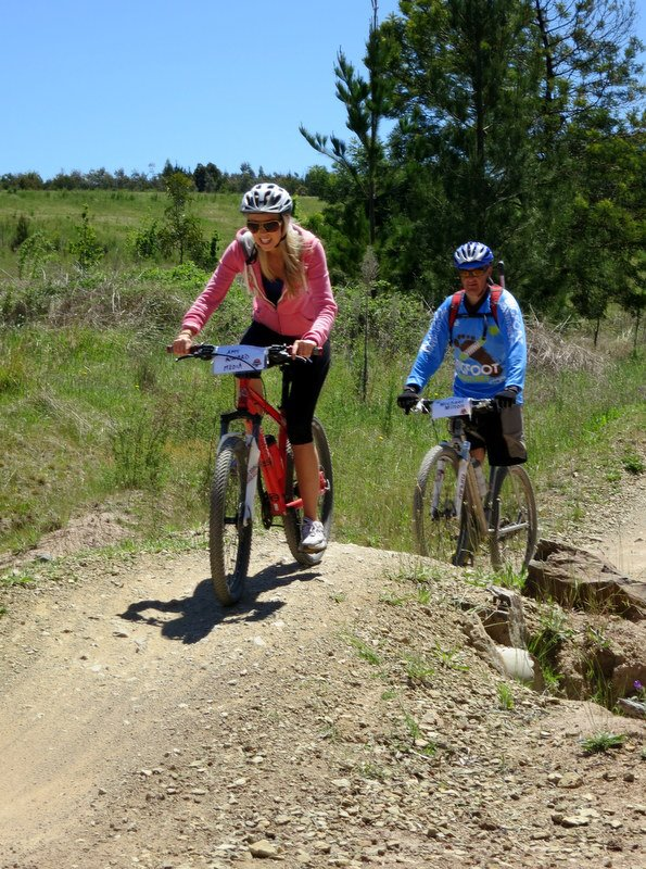 Mountain Biking Mount Stromlo