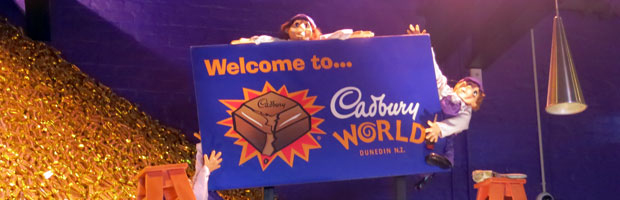 Mmm… Chocolate! Cadbury World Dunedin