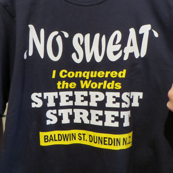 Baldwin Street T-Shirt