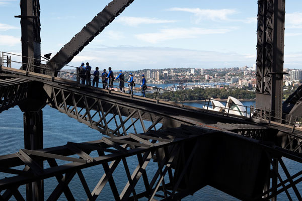 Bridgeclimb Sydney (James Horan; Destination NSW)