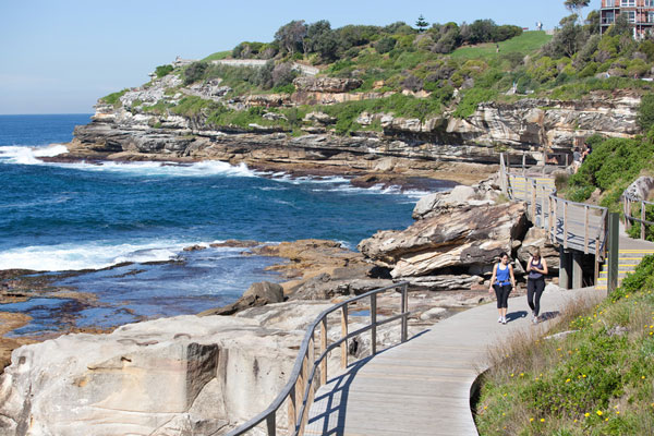 Bondi Coastal Walk (James Horan; Destination NSW)