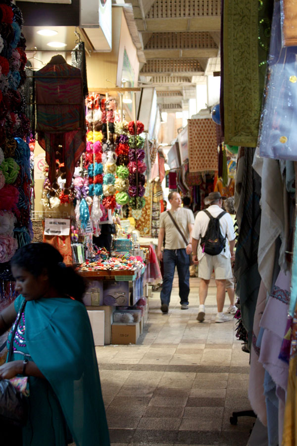 Shoppers at the Muttrah Souk