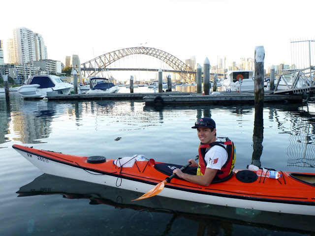 Starting point for Sydney Harbour Kayak