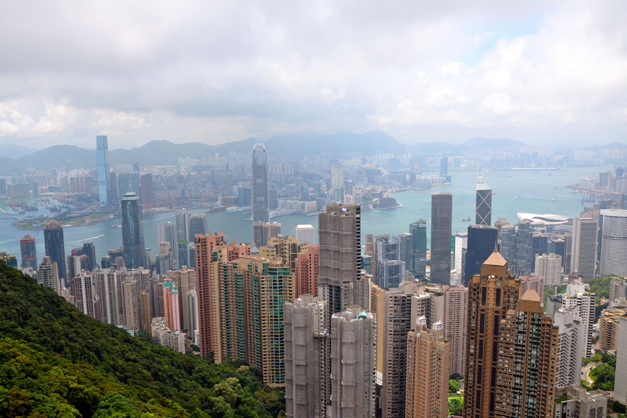 Views from Hong Kong Peak
