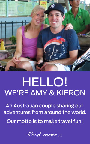 We're an Australian couple sharing our travel adventures from around the world.