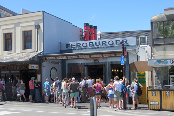 Fergburger - Queenstown, New Zealand
