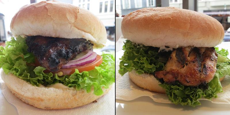 Burgers from Velvet Burger Dunedin