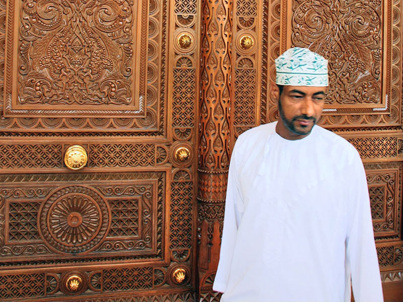 Attention to detail at Sultan Qaboos Grand Mosque Oman