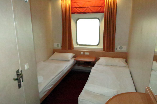 Cabin on the Spirit of Tasmania