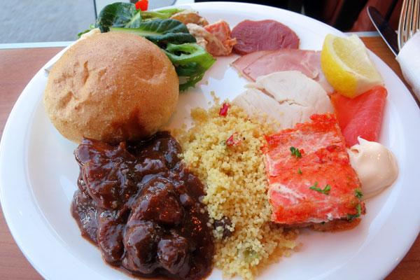 Buffet Lunch on Gordon River Cruise