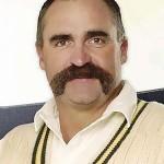 Merv Hughes, Australian cricketer. Also rhyming slang for shoes.